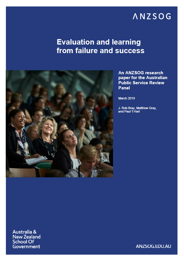 Evaluation and Learning from Failure and Success (cover)